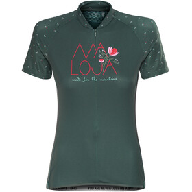 Maloja OrtensiaM. Short Sleeve Bike Jersey Women pinetree